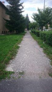 Chodník_Jilemnického